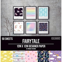 """Εικόνα του Colorbok Μπλοκ Scrapbooking 12""""X12"""" - Fairy Tale"""