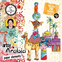 Εικόνα του Studio Light Art By Marlene Paper Elements Set - #01 Artsy Arabia