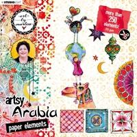 Εικόνα του Studio Light Art By Marlene Paper Elements Set - #02 Artsy Arabia