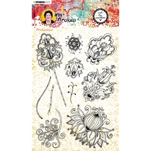 Picture of Studio Light Art By Marlene Clear Stamps - NR. 57, Artsy Arabia