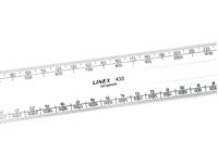 Εικόνα του Linex Flat Scale Ruler 15cm - Ατσάλινος Χάρακας
