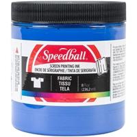 Εικόνα του Speedball Fabric Screen Printing Ink 8oz - Μελάνι Λινοτυπίας Peacock Blue