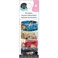 Εικόνα του American Crafts Color Pour Resin Mix-Ins - Foil Flakes Reversible