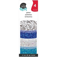 Εικόνα του American Crafts Color Pour Resin Mix-Ins - Winter Glitter