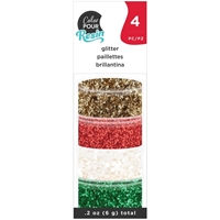 Εικόνα του American Crafts Color Pour Resin Mix-Ins - Holiday Glitter