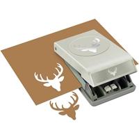 """Εικόνα του EK Success Large Punch - Deer Head 2"""""""