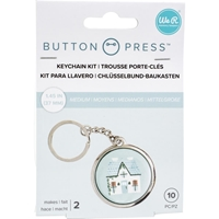 Εικόνα του We R Memory Keepers Button Press Keychain Kit