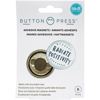 Εικόνα του We R Memory Keepers Button Press Adhesive Magnets - Μαγνητάκια