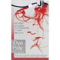 Εικόνα του Βαφή για Συνθετικά Υφάσματα Jacquard iDye Poly Fabric Dye 14g - Red