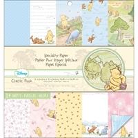 """Εικόνα του Disney Specialty Double-Sided Paper Pad 12""""X12"""" - Classic Pooh"""