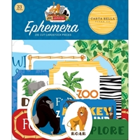 Εικόνα του Carta Bella Zoo Adventure Cardstock Ephemera - Icons