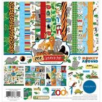 """Εικόνα του Carta Bella Collection Kit 12""""X12"""" - Zoo Adventure"""