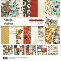 """Εικόνα του Simple Stories Collection Kit 12""""X12"""" - Simple Vintage Ancestry"""
