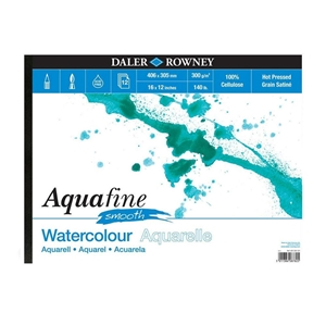 Picture of Daler Rowney Aquafine Μπλοκ Ακουαρέλας A3 - Smooth