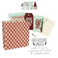 """Εικόνα του Simple Stories Sn@p! Binder 6""""X8"""" - Jingle All the Way"""