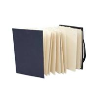 Εικόνα του Artway Indigo Χειροποίητα Sketchbooks - Concertina Cotton Paper A6 Portrait