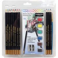 Εικόνα του Watercolor Pencil Drawing Set - Σετ Ζωγραφικής με Ακουαρελα