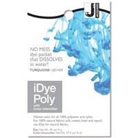 Εικόνα του Βαφή για Συνθετικά Υφάσματα Jacquard iDye Poly Fabric Dye 14g - Turquoise