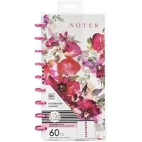 Εικόνα του Happy Planner Classic Half Sheet Notebook - Floral