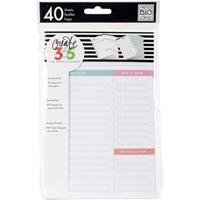 Εικόνα του  Happy Planner Mini Fill Paper - White Daily
