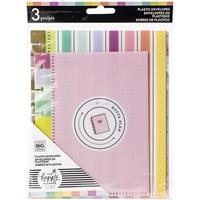 Εικόνα του Happy Planner Plastic Envelopes - Multicolor