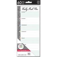 Εικόνα του Happy Planner Medium Half Sheet Fill Paper - Meal Planning