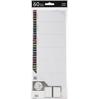 Εικόνα του Happy Planner Big Half Sheet Fill Paper - Weekly Stripe