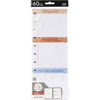 Εικόνα του Happy Planner Big Half Sheet Fill Paper - Soft Watercolor