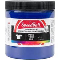 Εικόνα του Speedball Fabric Screen Printing Ink 8oz - Μελάνι Μεταξοτυπίας Process Cyan