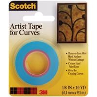 Εικόνα του Scotch Artist Tape For Curves - Χάρτινη Ταινία για Καμπύλες