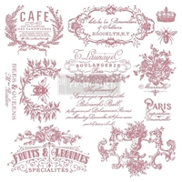 "Εικόνα του Prima Marketing Re-Design Decor Σετ Σφραγίδες Clear 12""X12"" - I See Paris"