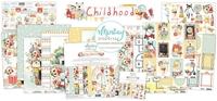 Εικόνα του Mintay Papers Συλλογή Scrapbooking Childhood - Bundle με Δώρο Element Sheet 12''x12''