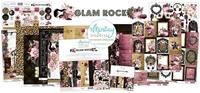 Εικόνα του Mintay Papers Συλλογή Scrapbooking Glam Rock - Bundle με Δώρο Element Sheet 12''x12''