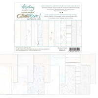 Εικόνα του Mintay Papers Basic Book 1 - Backgrounds White