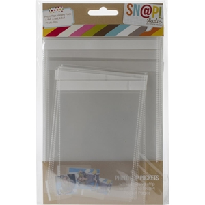 """Picture of Simple Stories Sn@p! Photo Flips For 6""""X8"""" Binders - Variety Pack"""