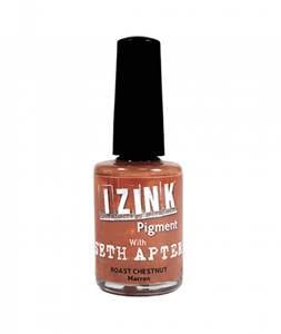 Picture of IZINK Pigment Ink Seth Apter - Roast Chestnut