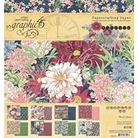 """Εικόνα του Graphic 45 Double-Sided Paper Pad 8""""X8"""" - Blossom"""