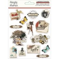 Εικόνα του Simple Stories Simple Vintage Ancestry Layered Stickers