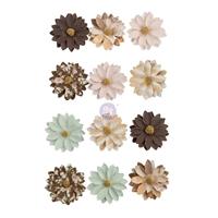 Εικόνα του Prima Marketing Golden Desert Χάρτινα Λουλούδια - Brown Valley