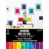 """Εικόνα του Colorbok Smooth Cardstock 8.5""""X11"""" - Rainbow"""