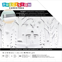"Εικόνα του American Crafts Precision Cardstock Pack 12""X12"" - White"