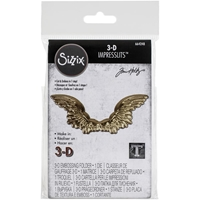 Εικόνα του Sizzix 3D Impresslits Embossing Folder By Tim Holtz - Winged
