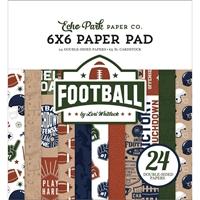 """Εικόνα του Echo Park Μπλοκ Scrapbooking Διπλής Όψης 6""""X6"""" - Football"""