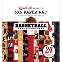 """Εικόνα του Echo Park Μπλοκ Scrapbooking Διπλής Όψης 6""""X6"""" - Basketball"""