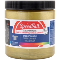 Εικόνα του Speedball Opaque Fabric Screen Printing Ink 8oz - Μελάνι Μεταξοτυπίας Gold