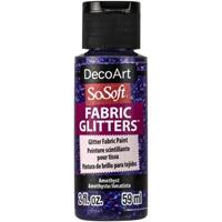 Εικόνα του SoSoft Glitters Ακρυλικό Χρώμα για Ύφασμα 59ml - Amethyst