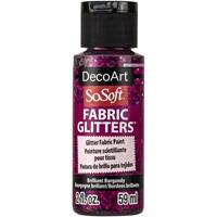 Εικόνα του SoSoft Glitters Ακρυλικό Χρώμα για Ύφασμα 59ml - Brilliant Burgundy