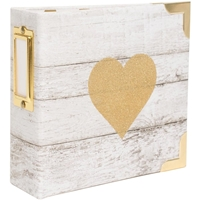 "Εικόνα του Project Life D-Ring Album Kit 4""X4"" - Glitter Heart"