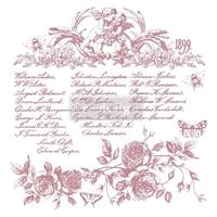 """Εικόνα του Prima Marketing Re-Design Decor Σετ Σφραγίδες Clear 12""""X12"""" - Floral Script"""