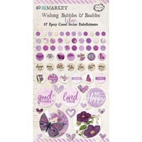 Εικόνα του 49 And Market Epoxy Coated Wishing Bubbles & Baubles - Lilac